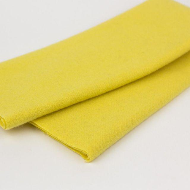 Australian Merino Wool, Creamed Butter (LN31) by Sue Spargo by Wonderfil  Sue Spargo Merino Wool Fabric - OzQuilts