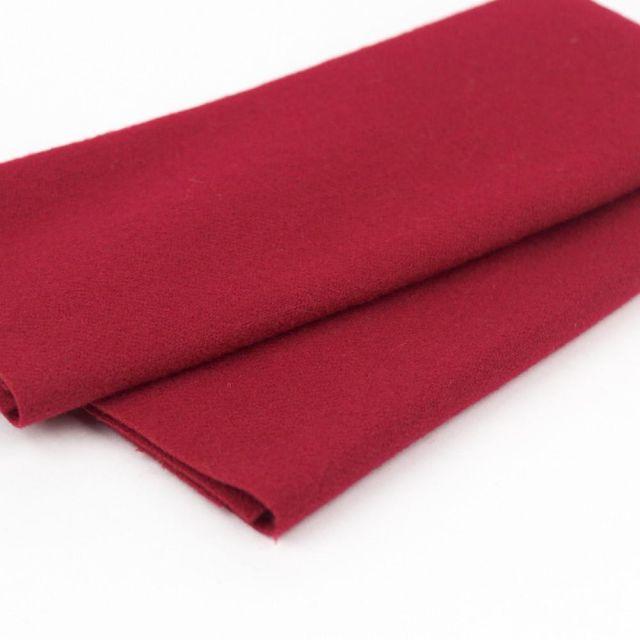Australian Merino Wool, Holly Berry (LN42) by Sue Spargo by Wonderfil  Sue Spargo Merino Wool Fabric - OzQuilts