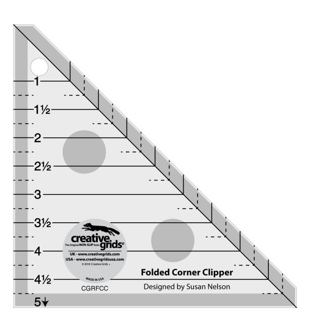 Creative Grids Folded Corner Clipper Tool by Creative Grids Specialty Rulers - OzQuilts