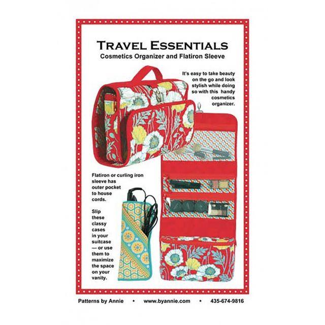 Travel Essentials Bag Pattern by Annie Unrein by ByAnnie Bag Patterns - OzQuilts