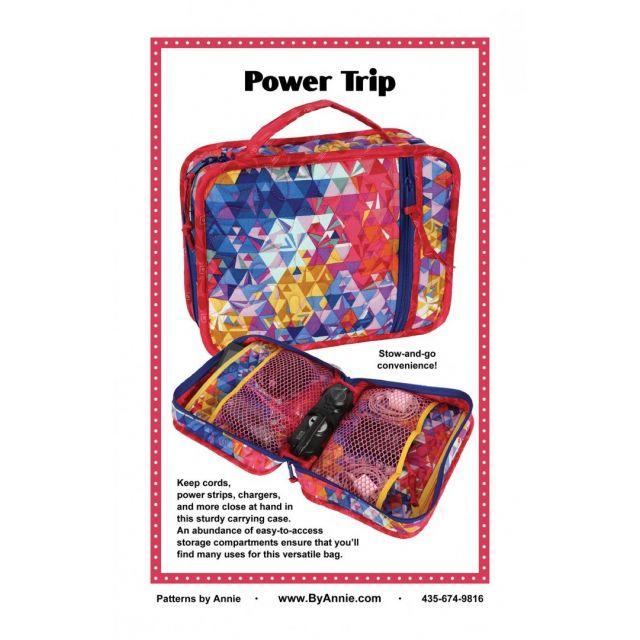 Power Trip Bag Pattern by Annie Unrein by ByAnnie Bag Patterns - OzQuilts