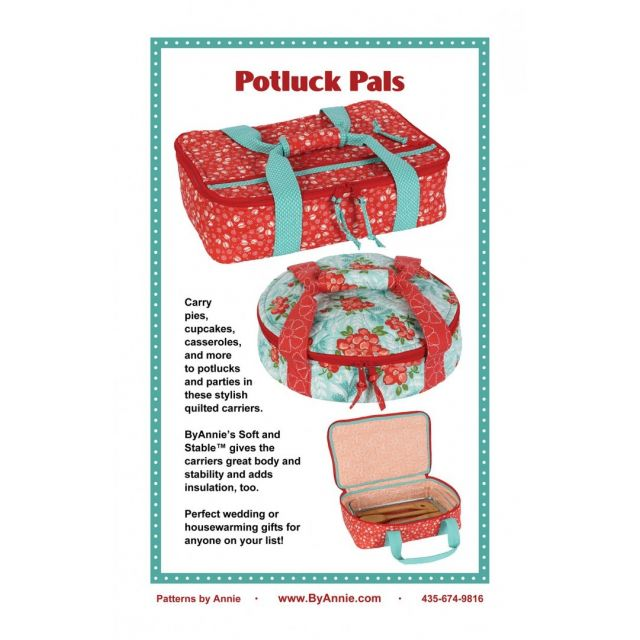 Potluck Pals Bag Pattern by Annie Unrein by ByAnnie Bag Patterns - OzQuilts