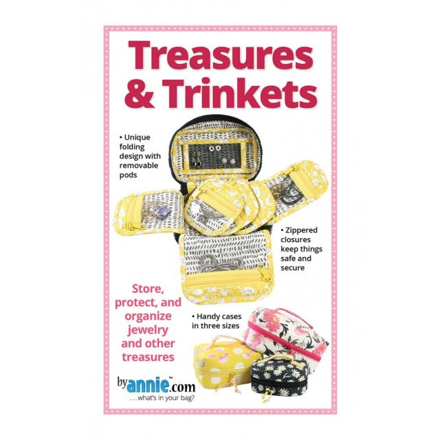 Treasures And Trinkets Bag Pattern by Annie Unrein by ByAnnie Bag Patterns - OzQuilts