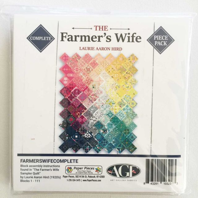 The Farmer's WIfe Complete English Paper Piecing Pack by Paper Pieces Paper Pieces Kits & Templates - OzQuilts