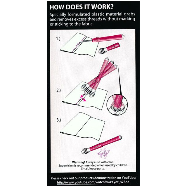 Seam-Fix Seam Ripper With Thread Remover On Each End by  Seam Rippers - OzQuilts