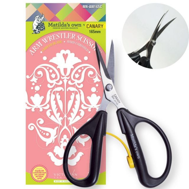 Matilda's Own Arm Wrestler Curved Blade Scissors by Matilda's Own Scissors - OzQuilts