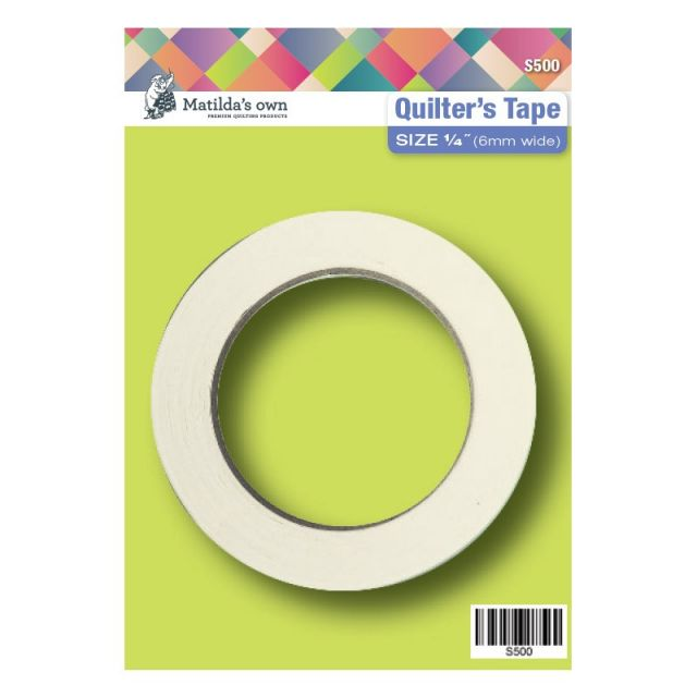 """Matilda's Own Quilters Tape 1/4"""" (6mm) by Matilda's Own Marking Tape - OzQuilts"""