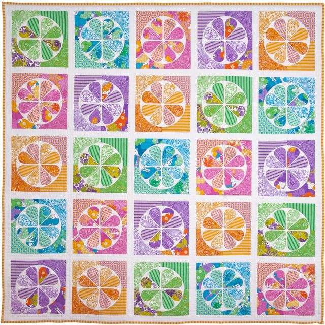 The Daisy Quilt Pattern by Emma Jean Jansen by Emma Jean Jansen Quilt Patterns - OzQuilts