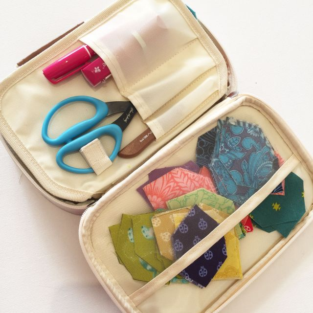 Matilda's Own Craft Case - Cream & Brown by Matilda's Own Organisers - OzQuilts