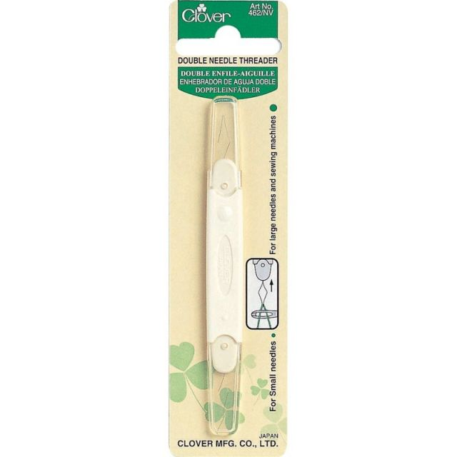 Clover Double Needle Threader by Clover - Needle Threaders & Cutters