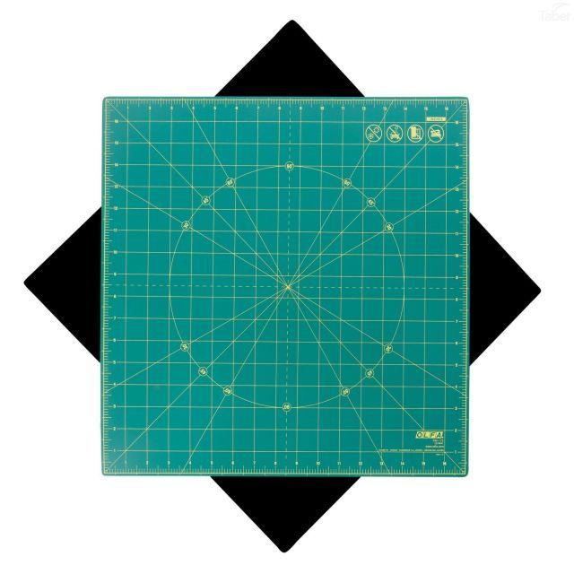 "Olfa Rotating Cutting Mat 17"" x 17"" by Olfa - Cutting Mats"
