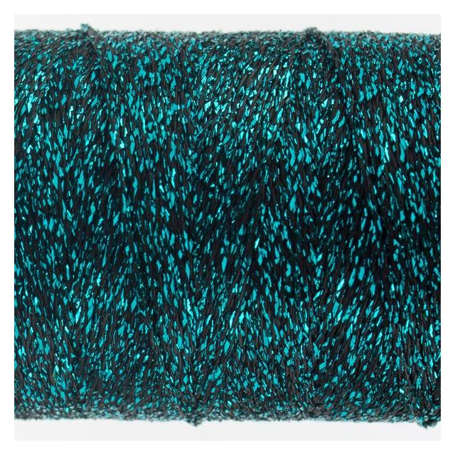 Wonderfil Sizzle 8wt Rayon & Metallic, Teal (SM101) Thread by Wonderfil  Sizzle 8wt Rayon & Metallic - OzQuilts
