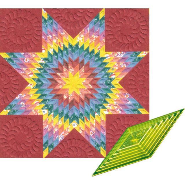 Matildas Own 45 Degree Diamond Patchwork Template Set by Matilda's Own Quilt Blocks - OzQuilts
