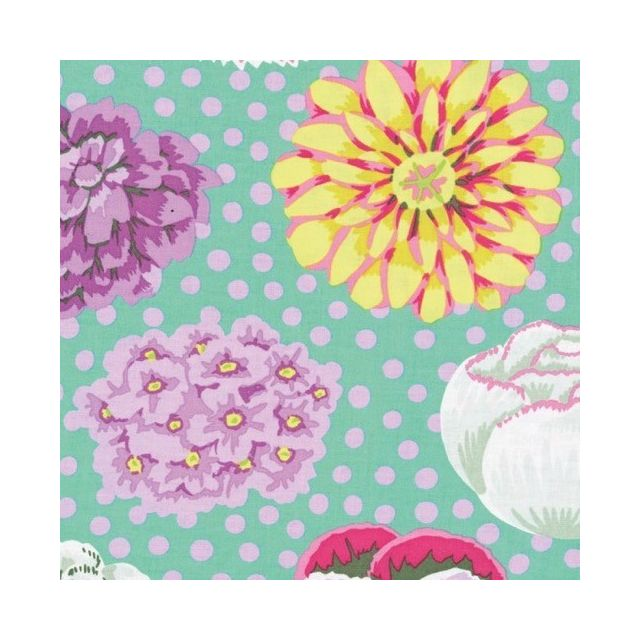 Big Blooms - Green by The Kaffe Fassett Collective Big Blooms - OzQuilts