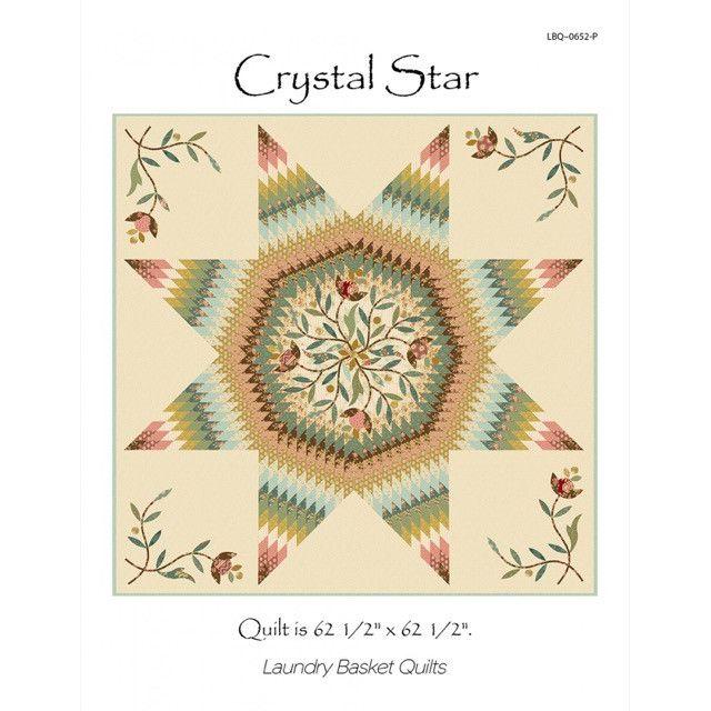 Crystal Star Quilt Pattern by Edyta Sitar by Laundry Basket Quilts by Edyta Sitar of Laundry Basket Quilts Quilt Patterns - OzQuilts