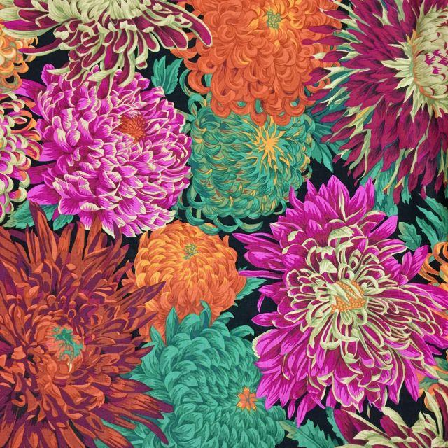 Japanese Chrysanthemum - Red by The Kaffe Fassett Collective Japanese Chrysanthemum - OzQuilts
