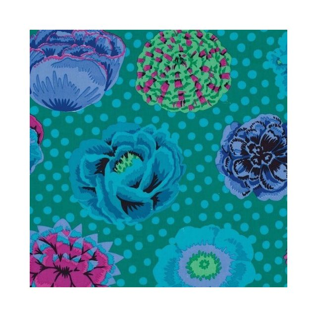Big Blooms - Emerald by The Kaffe Fassett Collective Big Blooms - OzQuilts