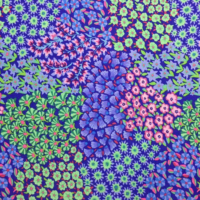 Persian Garden - Blue by The Kaffe Fassett Collective Persian Garden - OzQuilts
