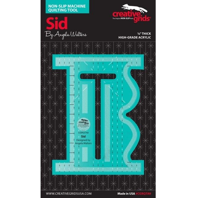 Creative Grids Machine Quilting Tool Sid by Creative Grids - Machine Quilting Rulers
