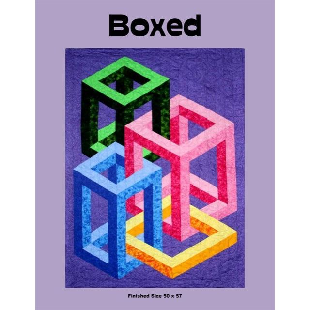 Boxed Quilt Pattern by Ruth Ann Berry