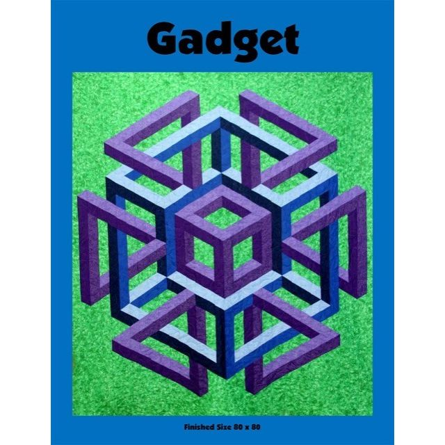 Gadget Quilt Pattern by Ruth Ann Berry