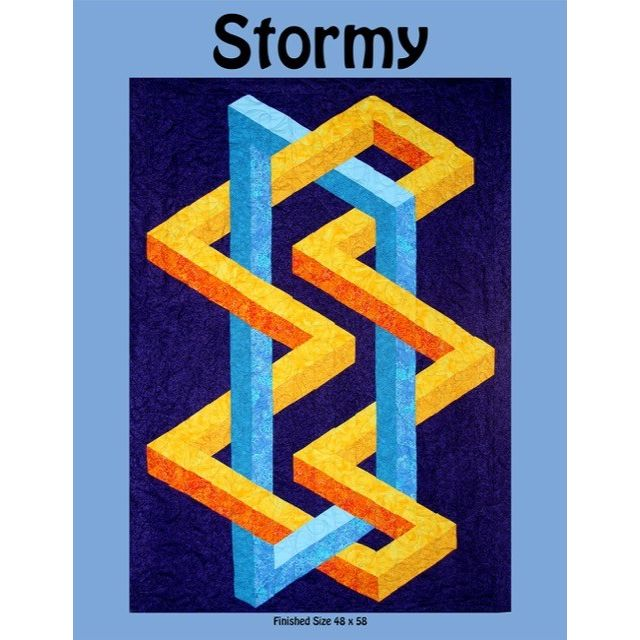 Stormy Quilt Pattern by Ruth Ann Berry