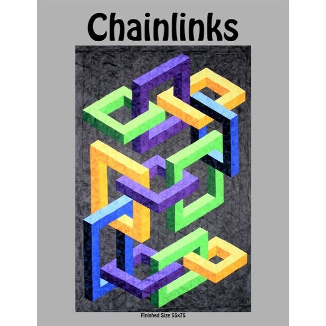 Chainlinks Quilt Pattern by Ruth Ann Berry
