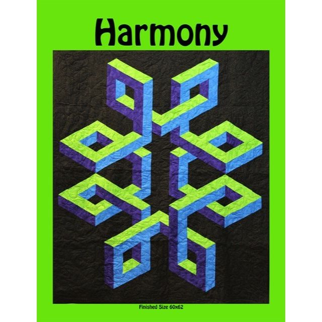 Harmony Quilt Pattern by Ruth Ann Berry