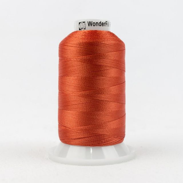 Wonderfil Splendor 40wt Rayon Thread 1000m spool - R1145 Tigerliy by Wonderfil Splendor 40wt Rayon - OzQuilts