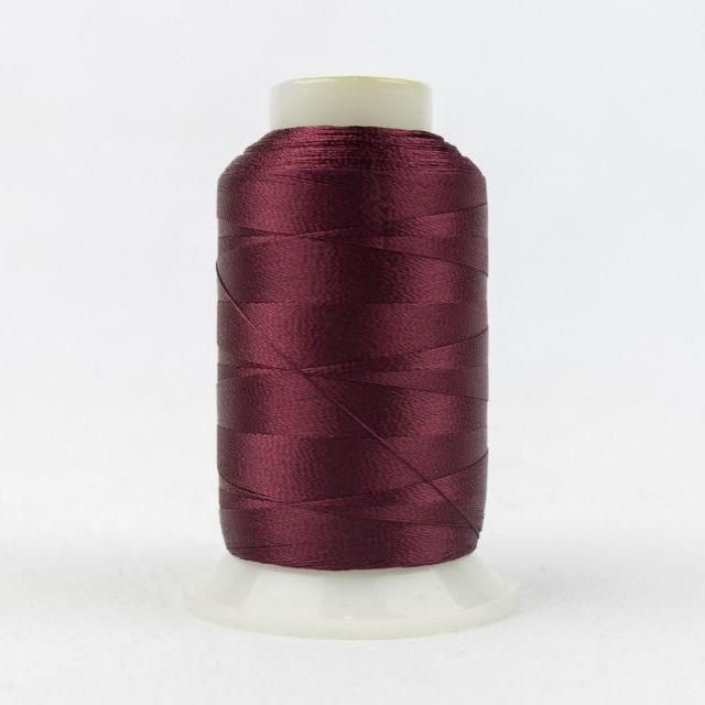 Wonderfil Splendor 40wt Rayon Thread 1000m spool - R1150 Tawny Port by Wonderfil Splendor 40wt Rayon - OzQuilts