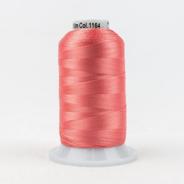 Wonderfil Splendor 40wt Rayon Thread 1000m spool - R1164 Shell Pink by Wonderfil Splendor 40wt Rayon Splendor 40wt Rayon - OzQuilts