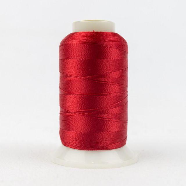 Wonderfil Splendor 40wt Rayon Thread 1000m spool - R1170 Tomato by Wonderfil Splendor 40wt Rayon - OzQuilts