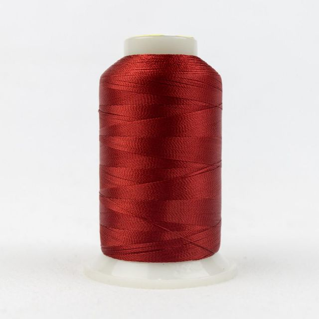Wonderfil Splendor 40wt Rayon Thread 1000m spool - R1171 Pompeian Red by Wonderfil Splendor 40wt Rayon - OzQuilts