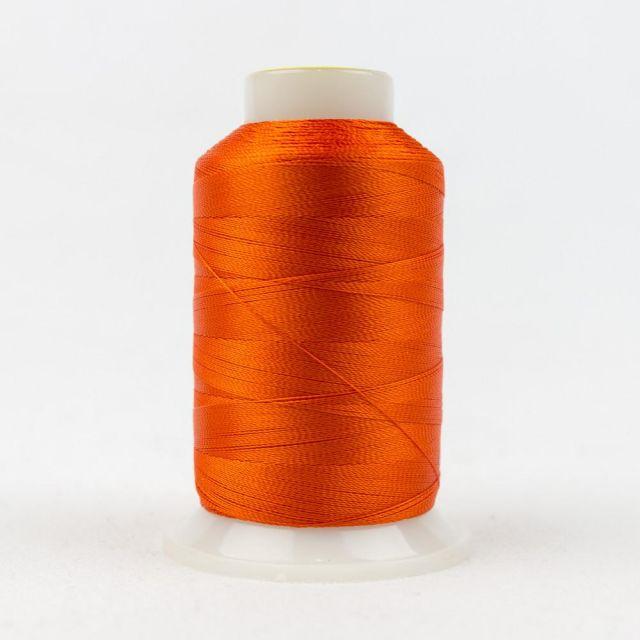 Wonderfil Splendor 40wt Rayon Thread 1000m spool - R1178 Red Orange by Wonderfil Splendor 40wt Rayon - OzQuilts