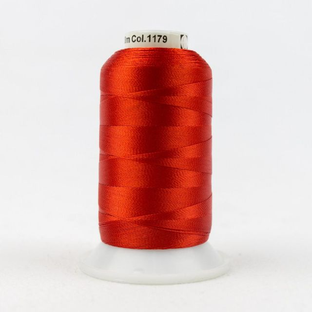 Wonderfil Splendor 40wt Rayon Thread 1000m spool - R1179 Grenadine by Wonderfil Splendor 40wt Rayon Splendor 40wt Rayon - OzQuilts