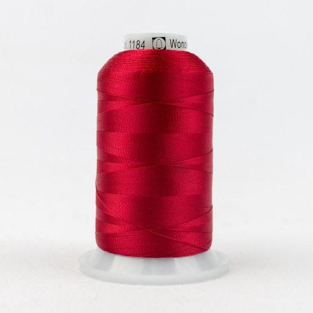 Wonderfil Splendor 40wt Rayon Thread 1000m spool - R1184 Mars Red by Wonderfil Splendor 40wt Rayon Splendor 40wt Rayon - OzQuilts