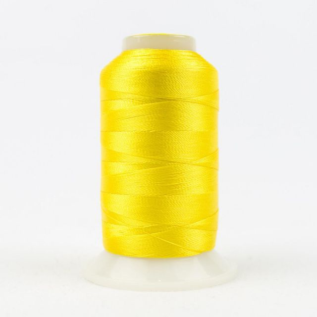 Wonderfil Splendor 40wt Rayon Thread 1000m spool - R2112 Vibrant Yellow by Wonderfil Splendor 40wt Rayon - OzQuilts