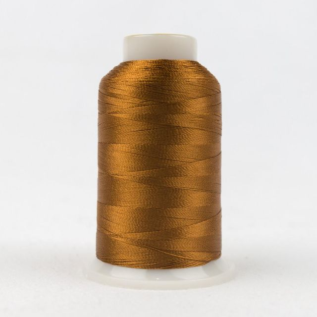 Wonderfil Splendor 40wt Rayon Thread 1000m spool - R2123 Cathay Spice by Wonderfil Splendor 40wt Rayon - OzQuilts