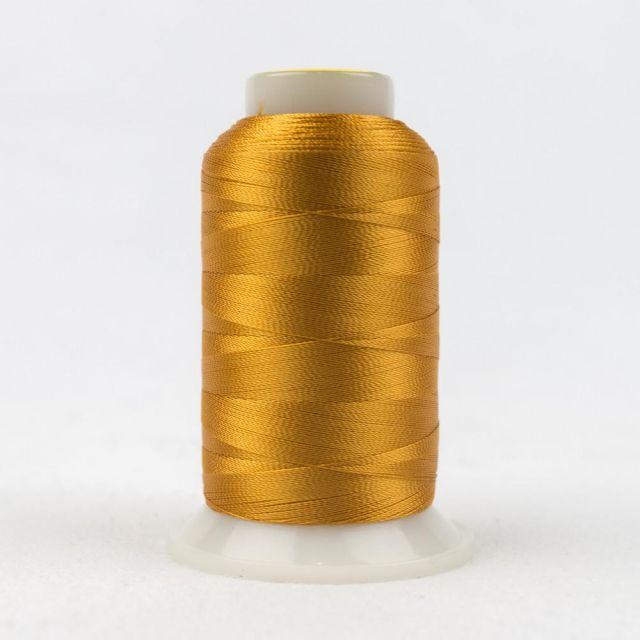 Wonderfil Splendor 40wt Rayon Thread 1000m spool - R2127 Golden Nugget by Wonderfil Splendor 40wt Rayon - OzQuilts