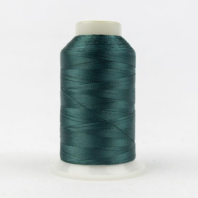 Wonderfil Splendor 40wt Rayon Thread 1000m spool - R3117 Trekking Green by Wonderfil Splendor 40wt Rayon Splendor 40wt Rayon - OzQuilts
