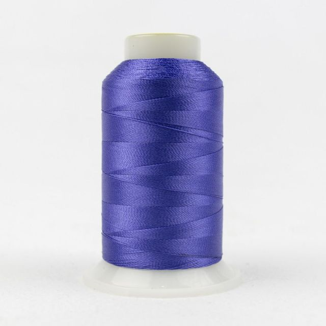 Wonderfil Splendor 40wt Rayon Thread 1000m spool - R3121 Blue Iris by Wonderfil Splendor 40wt Rayon - OzQuilts