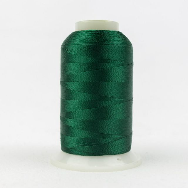Wonderfil Splendor 40wt Rayon Thread 1000m spool - R4130 Verdant Green by Wonderfil Splendor 40wt Rayon - OzQuilts