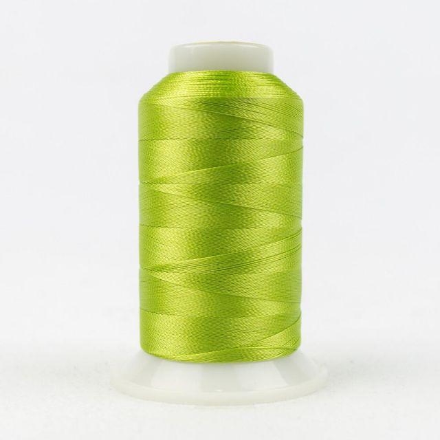 Wonderfil Splendor 40wt Rayon Thread 1000m spool - R4149 Macaw Green by Wonderfil Splendor 40wt Rayon - OzQuilts