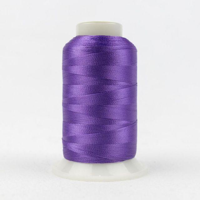 Wonderfil Splendor 40wt Rayon Thread 1000m spool - R5108 Purple Heart by Wonderfil Splendor 40wt Rayon - Splendor 40wt Rayon
