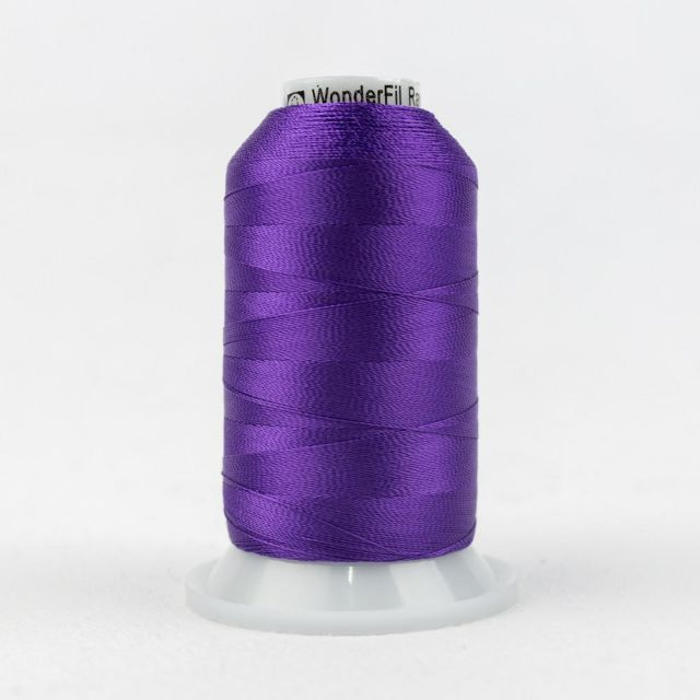 Wonderfil Splendor 40wt Rayon Thread 1000m spool - R5116 Pansy by Wonderfil Splendor 40wt Rayon - OzQuilts