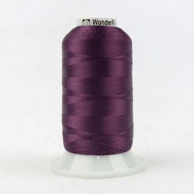 Wonderfil Splendor 40wt Rayon Thread 1000m spool - R5117 Purple Potion by Wonderfil Splendor 40wt Rayon Splendor 40wt Rayon - OzQuilts