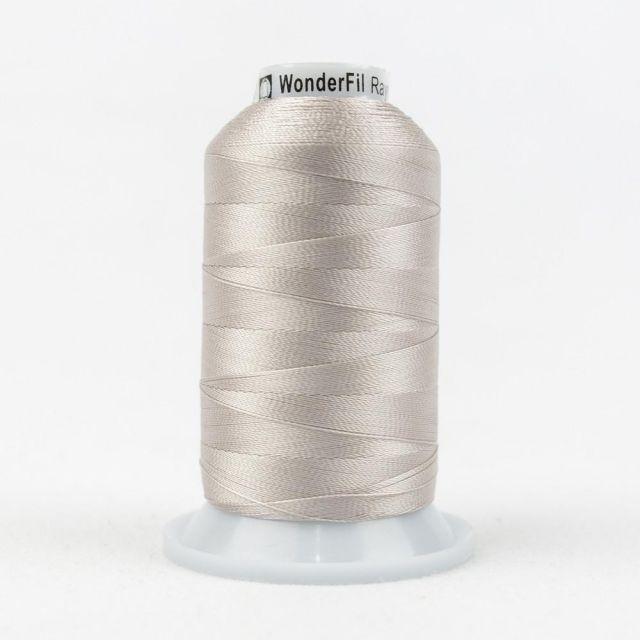 Wonderfil Splendor 40wt Rayon Thread 1000m spool - R6101 Pastel Parchment by Wonderfil Splendor 40wt Rayon Splendor 40wt Rayon - OzQuilts