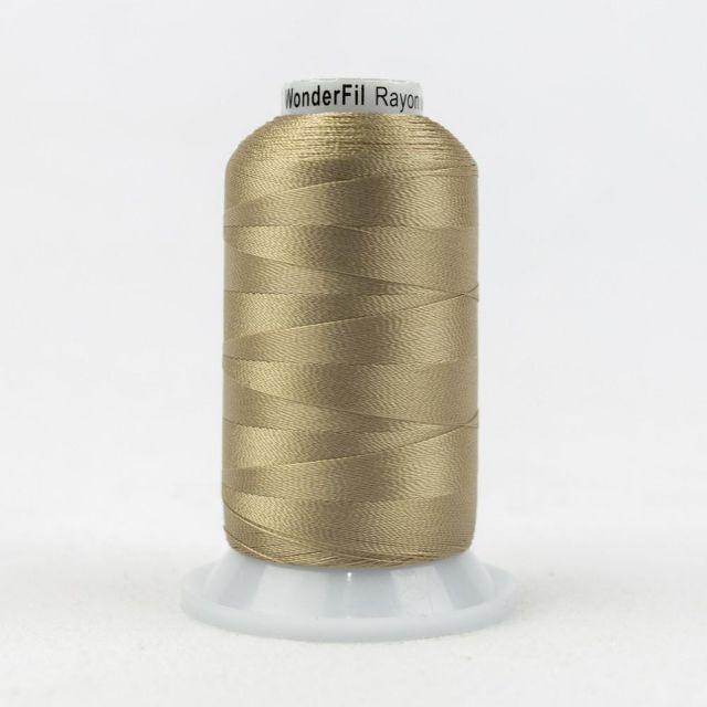 Wonderfil Splendor 40wt Rayon Thread 1000m spool - R6119 Beige by Wonderfil Splendor 40wt Rayon Splendor 40wt Rayon - OzQuilts