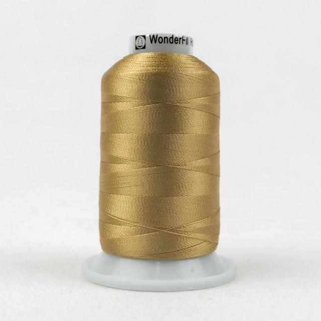 Wonderfil Splendor 40wt Rayon Thread 1000m spool - R7104 Clay by Wonderfil Splendor 40wt Rayon - OzQuilts
