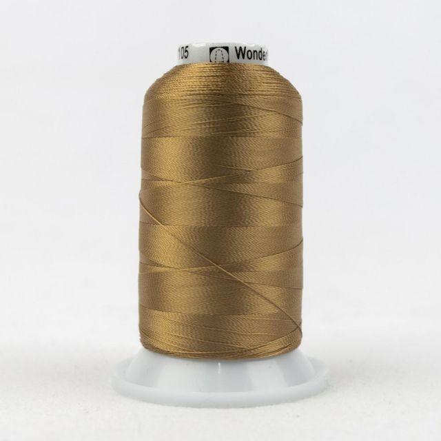 Wonderfil Splendor 40wt Rayon Thread 1000m spool - R7105 Biscuit by Wonderfil Splendor 40wt Rayon Splendor 40wt Rayon - OzQuilts